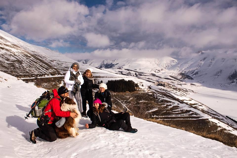 .: 31/12 – Escursione Paradisi Sibillini: Castelluccio, Val Canatra e l' Inverno