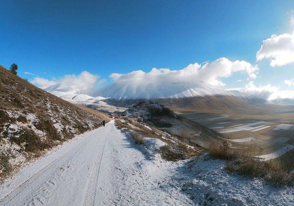 .: 21/12 – Escursione Paradisi Sibillini: Castelluccio, Val Canatra e l'Inverno