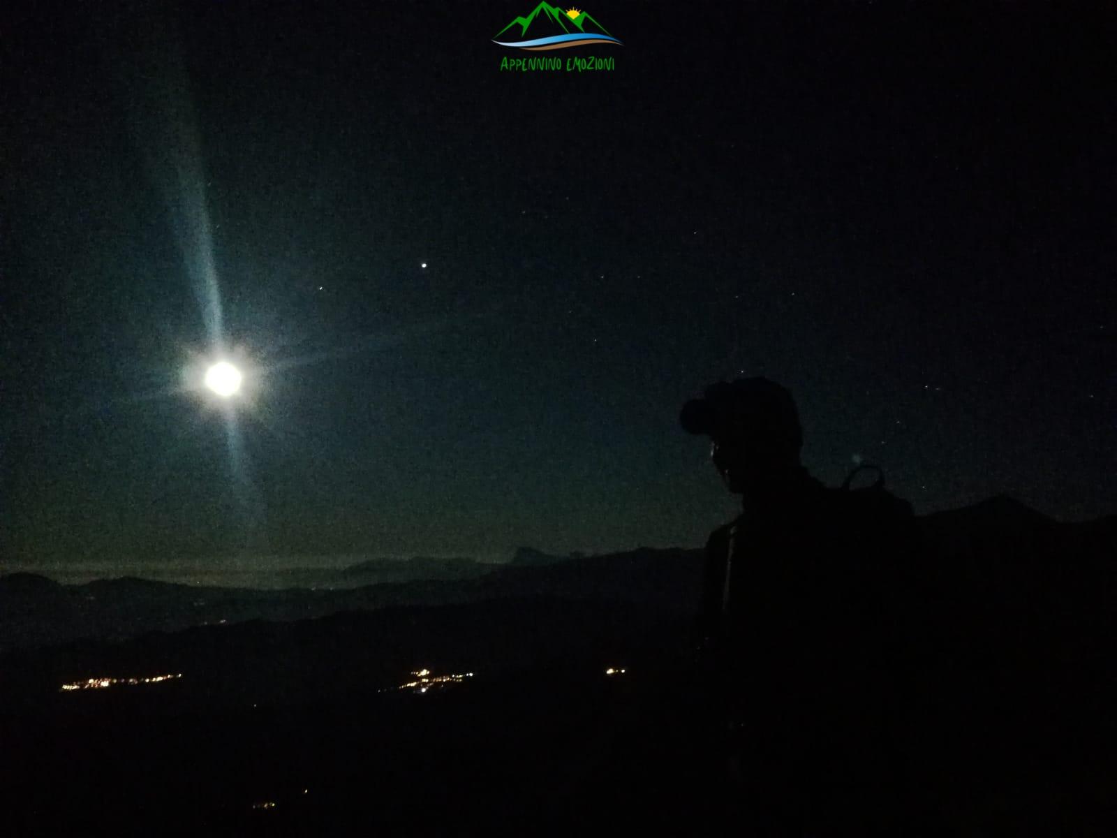 :. 03/08 – Escursione di luna piena: il Monte Amandola